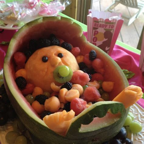 Baby Shower Watermelon by I Made A Watermelon Baby Carriage Baby Shower Stuff