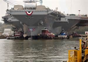 Gerald Ford Carrier This Is The Us New 13 Billion Warship Business Insider