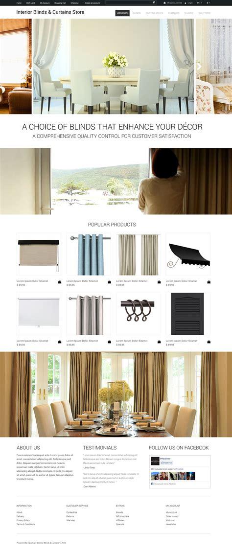 opencart themes design interior design opencart theme
