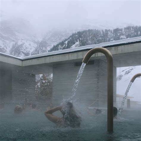Zumthor Vals by Morphosis Designs Bedrooms For Hotel At Zumthor S Vals