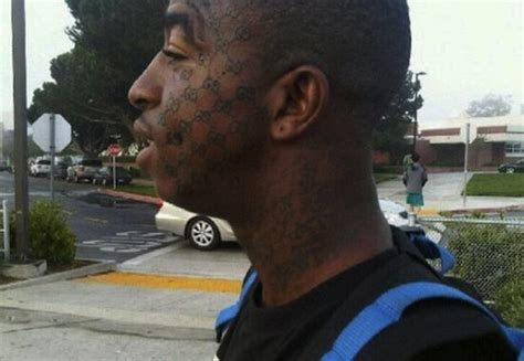 gucci face tattoo tattooed brand if everyone jumped 226 166 signature9