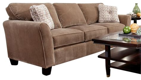 broyhill microfiber sofa broyhill upholstered laf chaise