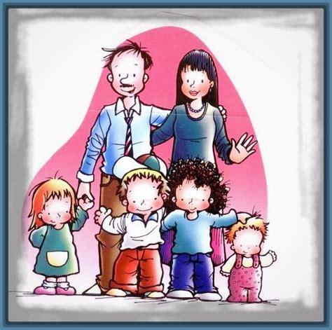 imagenes sobre la familia en caricatura imagenes de tipos de familia para ni 241 os archivos