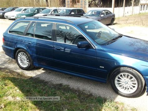 2001 bmw 530i capacity 2001 bmw 530i touring ahk xenon car photo and specs