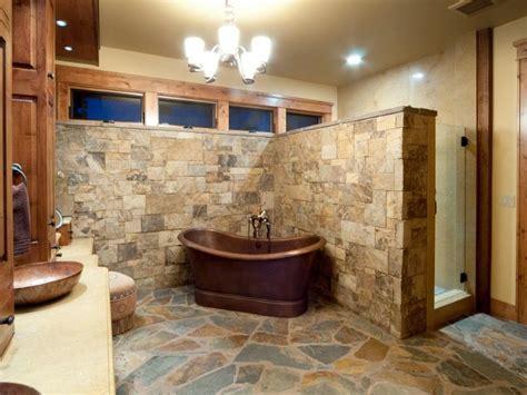 bloombety rustic bathrooms designs slate wall rustic bloombety rustic bathrooms designs renovation rustic