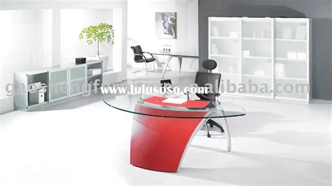 glass office furniture desk glass top contemporary office desks all contemporary