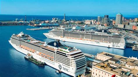 msc crociere sede genova da record per msc crociere 22 navi e 83 mila