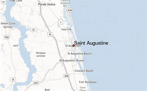 st augustine texas map st augustine location guide