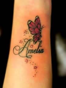 Tattoo truro butterfly tattoo stars twinkles pretty wrist girly 001