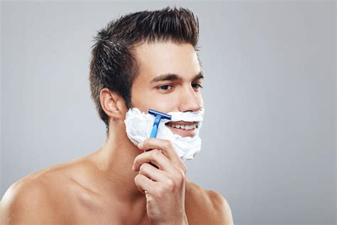 men who shave how to shave a beard