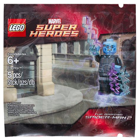 Lego Polybag 5002125 Electro lego heroes electro 5002125 is now listed on toysrus