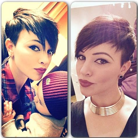 cut away hair styles asymmetric short haircuts for ladies that want to stand