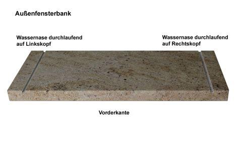 außenfensterbank naturstein naturstein fensterb 228 nke auf ma 223 f 252 r innen und au 223 en