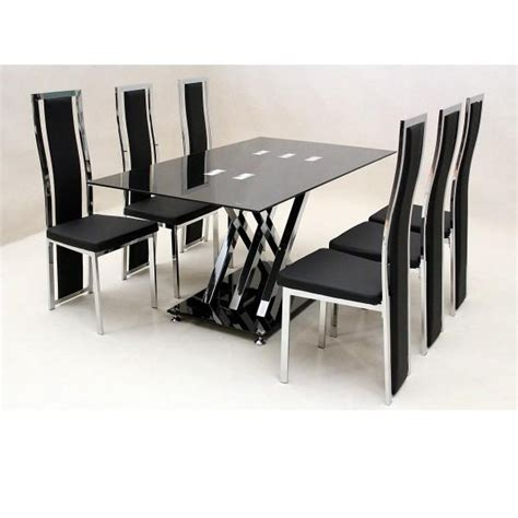 dining table with 6 chairs sale 20 photos glass dining tables with 6 chairs dining room