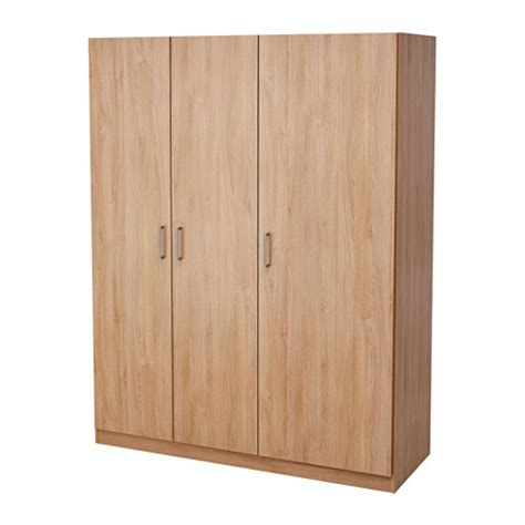 Small Room Decoration by Domb 197 S Wardrobe Oak Effect 140x181 Cm Ikea