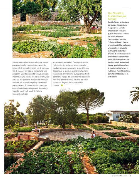 giardino antico rivista il progetto biodiverso sulla rivista quot giardino antico