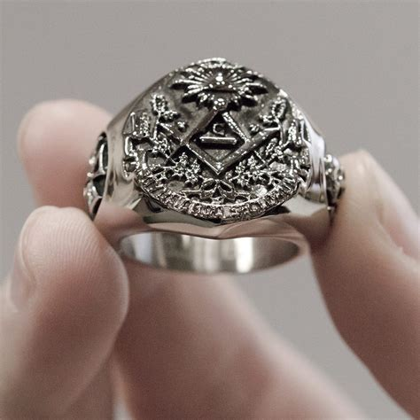 illuminati ring masonic illuminati signet stainless steel ring rings