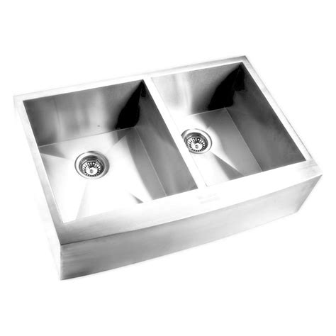 elkay stainless steel farmhouse sink elkay farmhouse apron front undermount stainless steel 32