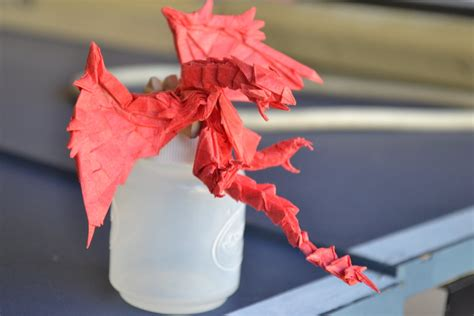Working Origami - origami rathalos work in progress by timsorigami on