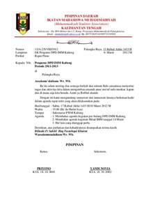 contoh surat undangan rapat resmi the knownledge