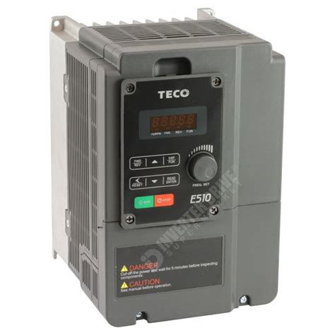 Ac 1 2 Pk Teco teco e510 2 2kw 230v 1ph to 3ph ac inverter drive speed