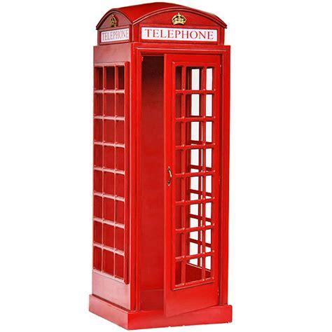 Telephone Box telephone box lifesize replica drinkstuff