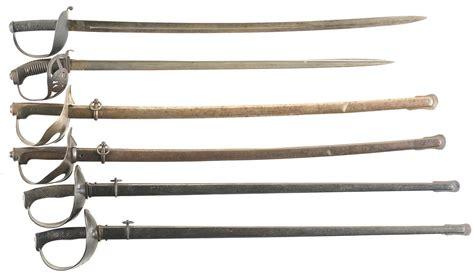 european swords six european swords