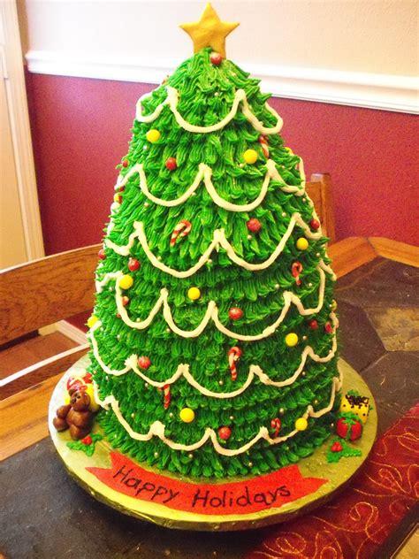 3d christmas tree cake cakecentral com