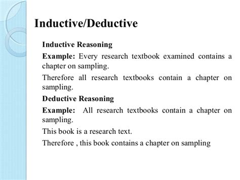 define induction communication research methodology
