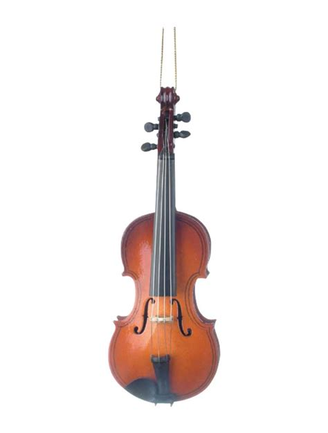 christmas tree ornament violin christmas decorating