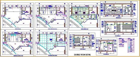 Hospital Double Bed Room   Plan n Design