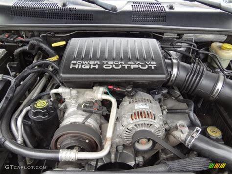 4 7 Liter Jeep Engine 2003 Jeep Grand Overland 4x4 4 7 Liter Sohc 16
