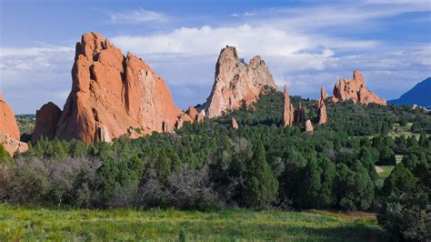 Garden Of The Gods Forecast Mountains Nature Forests Colorado Garden Of The Gods