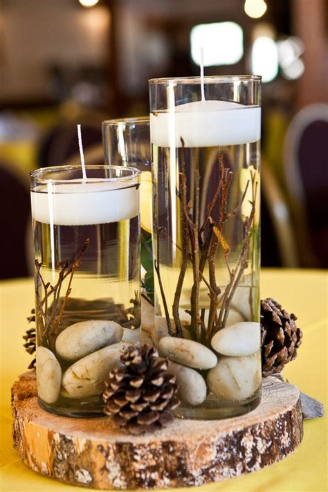 wedding table centerpieces without flowers for modern brides 25 fabulous wedding centerpieces without flowers everafterguide