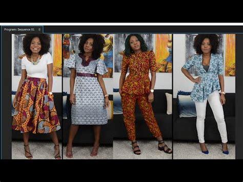 african print lookbook with shortede86 tollybabygrl la spring lookbook ankara print inspired youtube