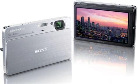 Kamera Sony Cybershot Dsc T77 sony cybershot dsc t77 un apn ultra fashion techmag