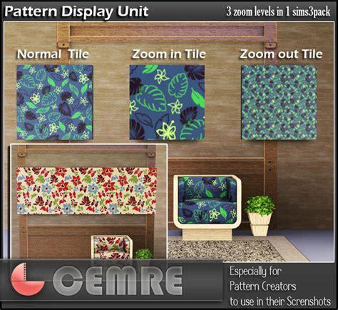 pattern unit cemre s pattern display unit