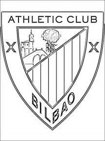 emblem athletic bilbao coloring coloring pages