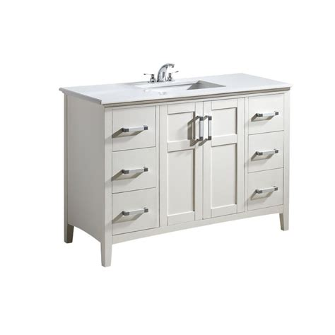 simpli home winston 48 in vanity in soft white with
