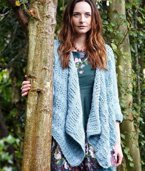 Pattern Waterfall Cardigan | waterfall cardigan knitting pattern allfreeknitting com