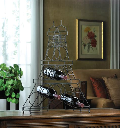 eiffel tower home decor accessories eiffel tower wine holder rack wholesale at koehler home decor