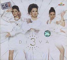 diva mencinta 3 diva album wikipedia bahasa indonesia ensiklopedia