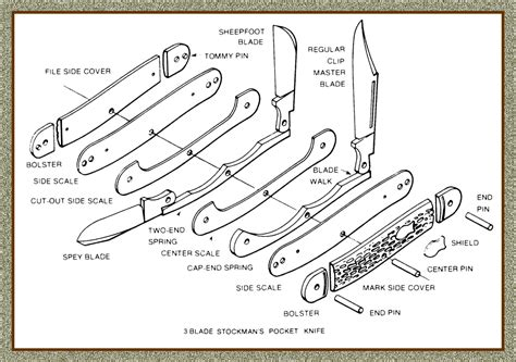 knife components knife terminology great eastern cutlery