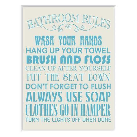 bathroom rules art ptm images bathroom rules framed art view all