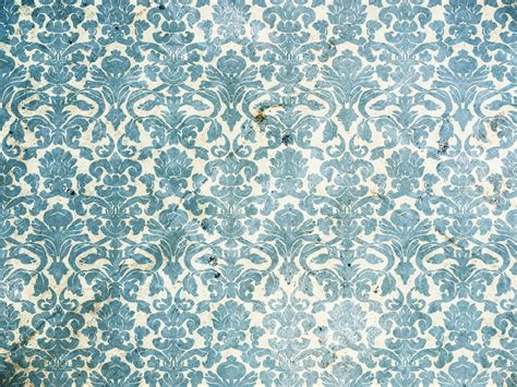 wallpaper pattern vintage blue free seamless wallpaper pattern in vintage style royalty
