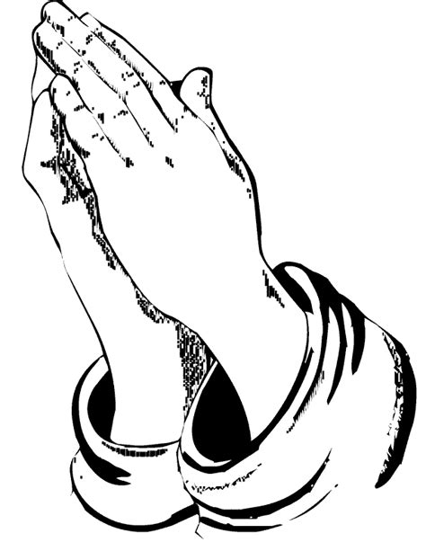 coloring page praying hands printable praying hands coloring home