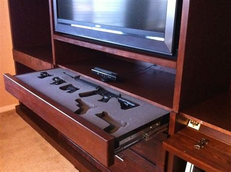bedroom gun safe 10 cool secret gun cabinets for your home pics
