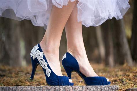 Blue Wedding Heels by Wedding Shoes Blue Bridal Heels Blue Wedding Heels
