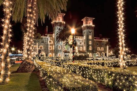 nights of lights celebration in st augustine