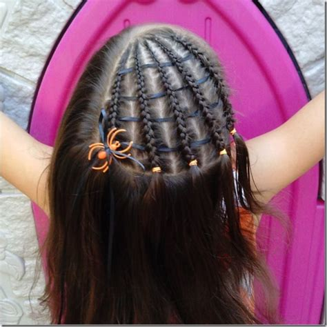 Spiderweb Hairstyle by Spider Web Hairstyle Hairstyles By Unixcode